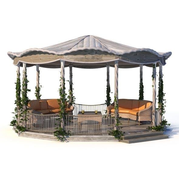 Pergola - 3DOcean Item for Sale
