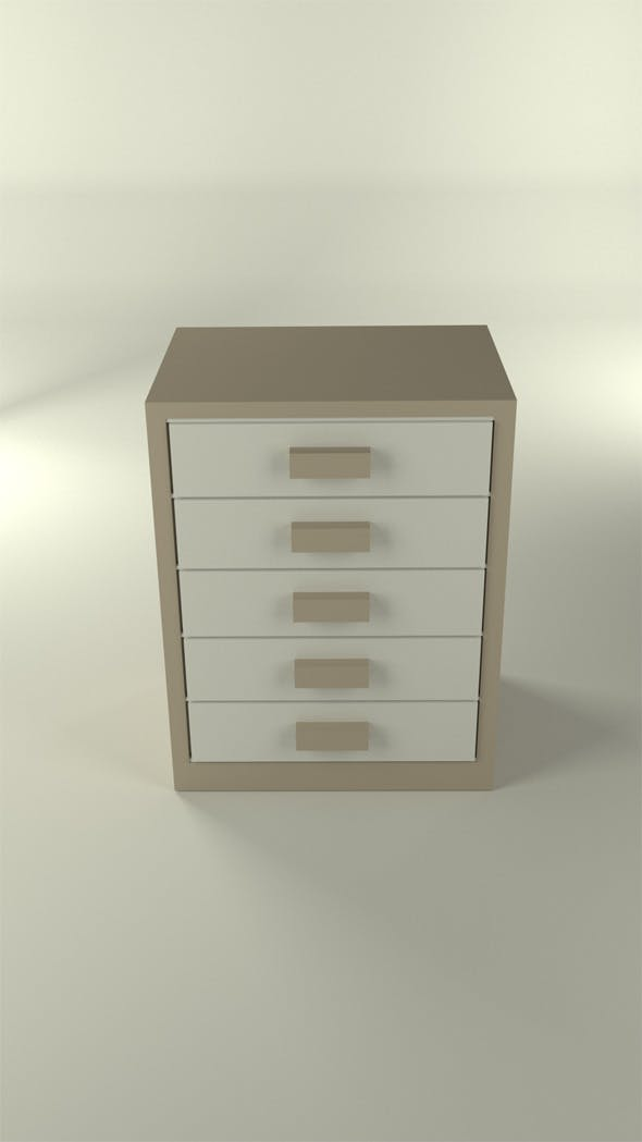 Minimalist Side Table - 3DOcean Item for Sale
