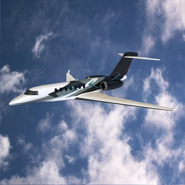 Cessna Citation Longitude private jet - 3DOcean Item for Sale