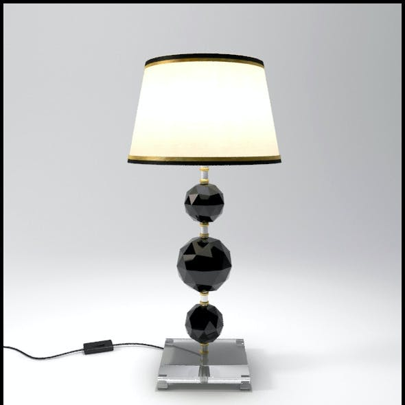 Glass Geosphere Table Lamp #2