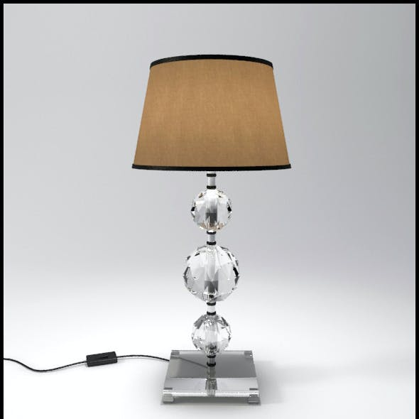 Glass Geosphere Table Lamp #5