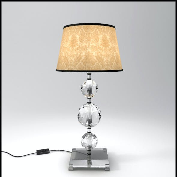 Glass Geosphere Table Lamp #6