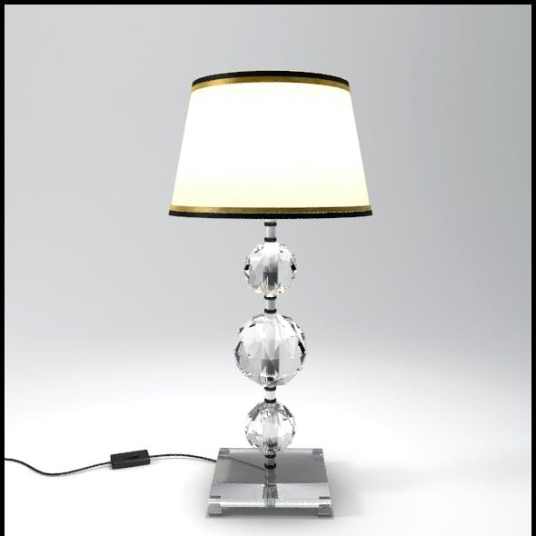 Glass Geosphere Table Lamp #8