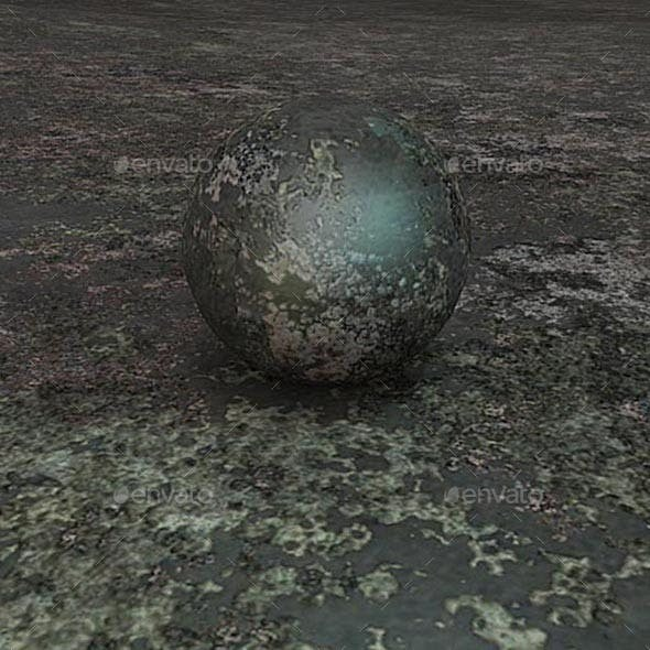 Old Iron Seamless Texture - 3DOcean Item for Sale