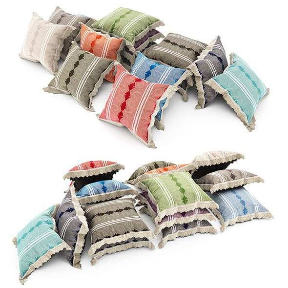 Pillows collection 79 - 3DOcean Item for Sale