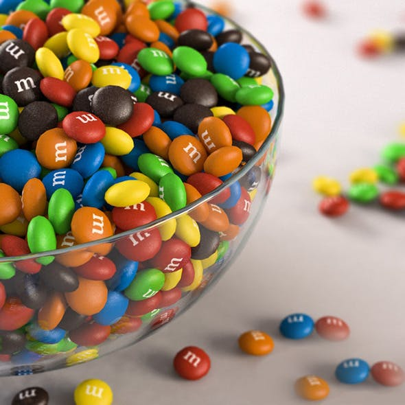 m&m's chocolate - 3DOcean Item for Sale