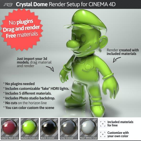 Cinema 4D 3D Render Setups from 3DOcean
