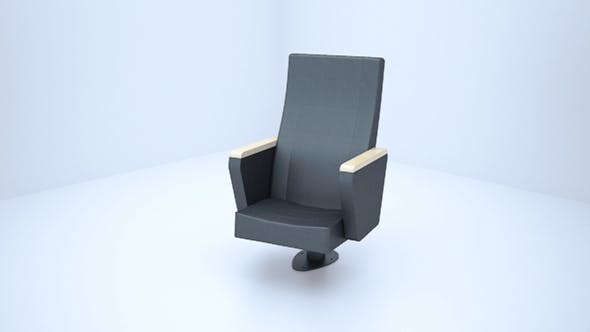 cinema sofa - 3DOcean Item for Sale