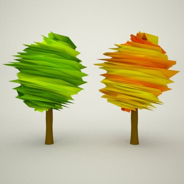 Autumn and Summer Tree