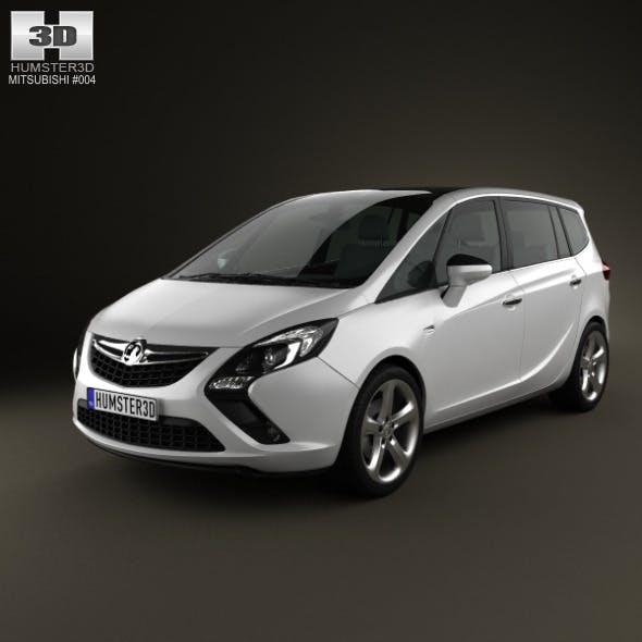 Vauxhall Zafira Tourer 2012 - 3DOcean Item for Sale