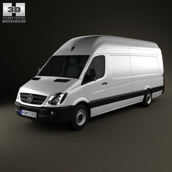 Mercedes-Benz Sprinter PanelVan ExtralongWheelbase - 3DOcean Item for Sale