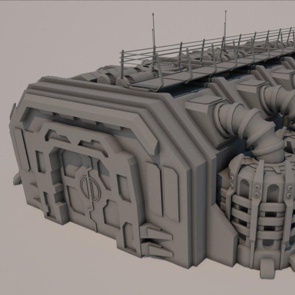 Sci-fi Building 1501 - 3DOcean Item for Sale