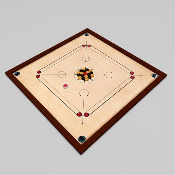 Carrom Board - 3DOcean Item for Sale