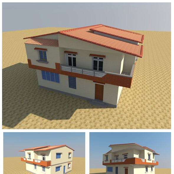 3D Individual house