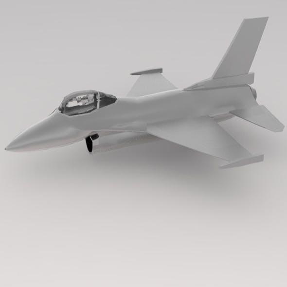 f-16 war plane