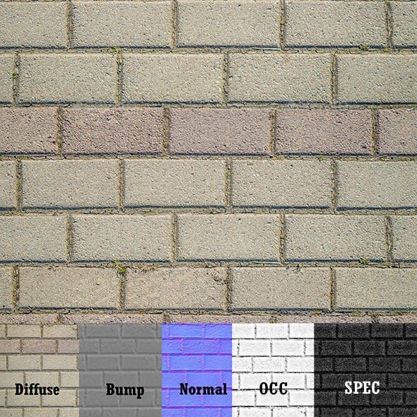 Pavement Tiles - 3DOcean Item for Sale