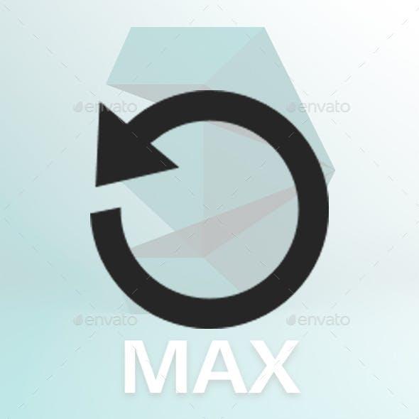 3dsMax Pivot Reset