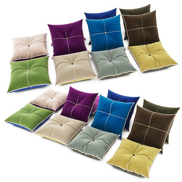 Pillows collection 83 - 3DOcean Item for Sale