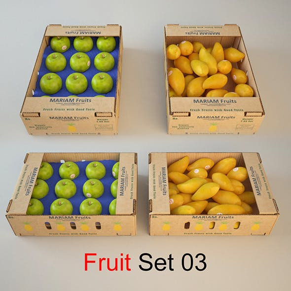 Fruit Sit 03 - 3DOcean Item for Sale