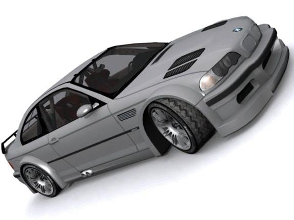 BMW M3 GT-R Wide Body  - 3DOcean Item for Sale