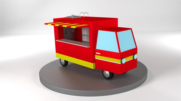 Food Truck - 3DOcean Item for Sale