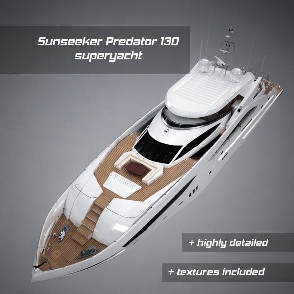 Sunseeker Predator 130 luxury yacht