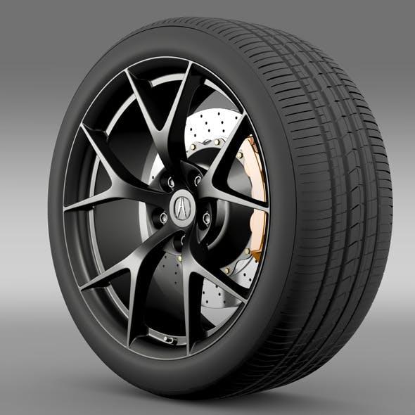 Acura NSX Wheel 2015 By CreativeIdeaStudio