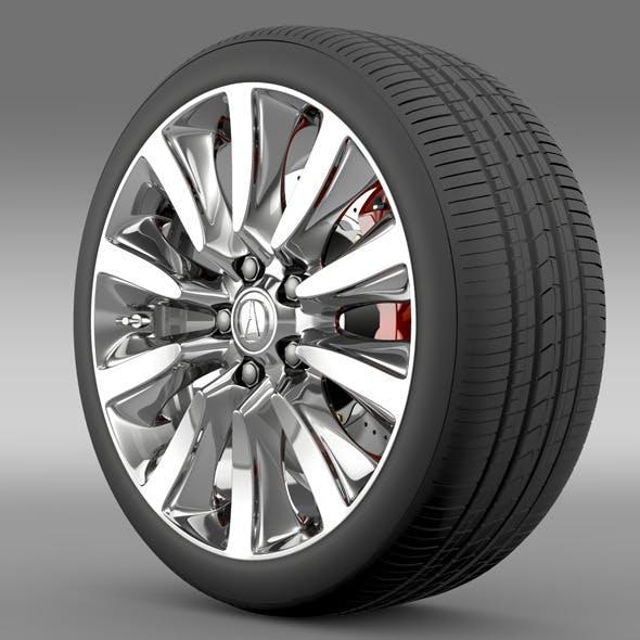 Acura RLX Sport Hybrid wheel