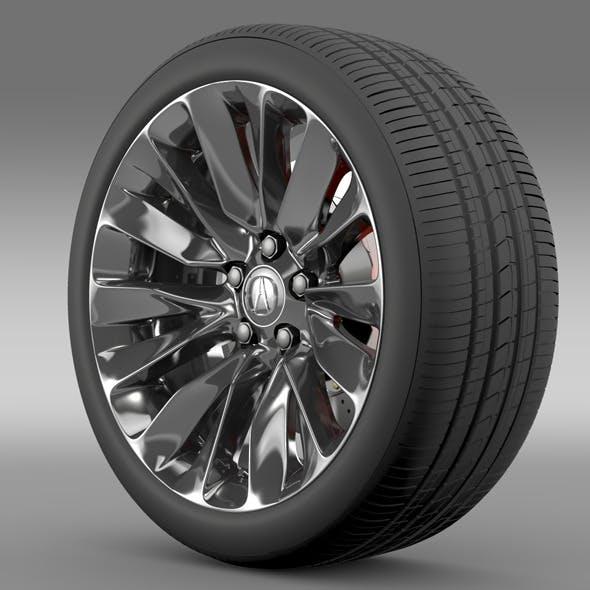 Acura RLX wheel - 3DOcean Item for Sale