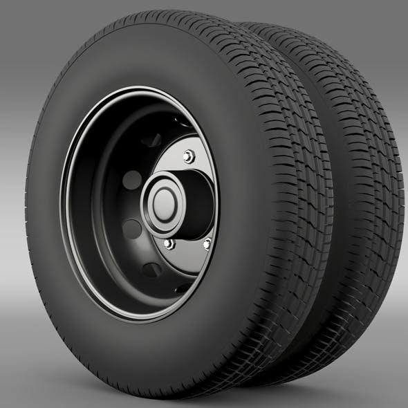 Ashok Leyland wheel2