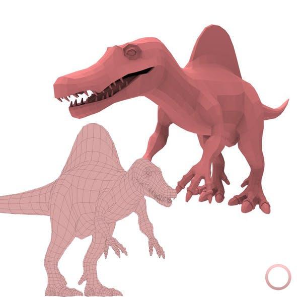 Spinosaurus Base Mesh