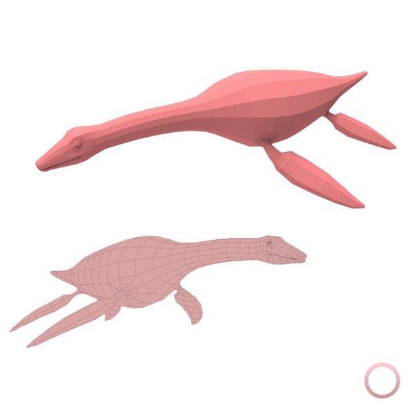 Plesiosaurus Base Mesh