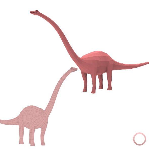 Diplodocus Base Mesh