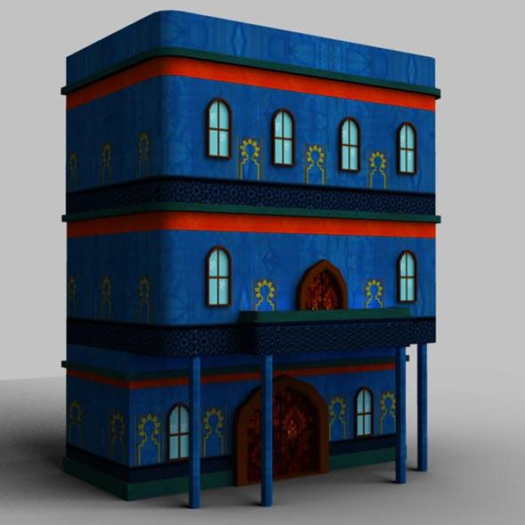 Arabic Style Building01