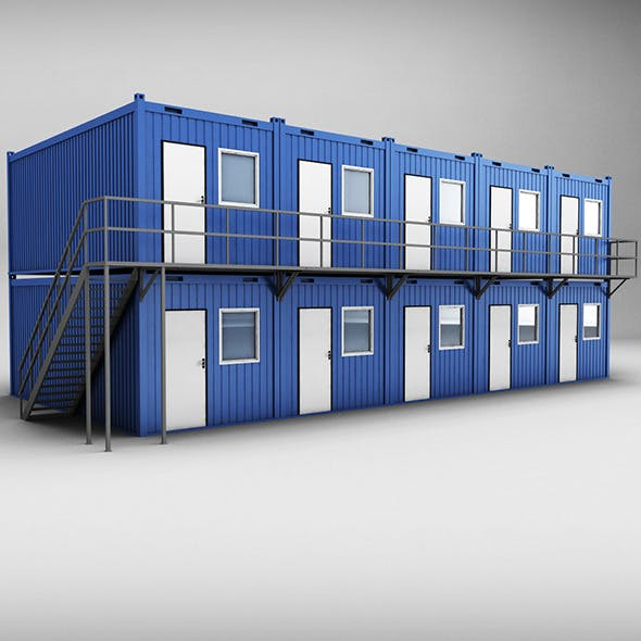 Container shipping House double floor