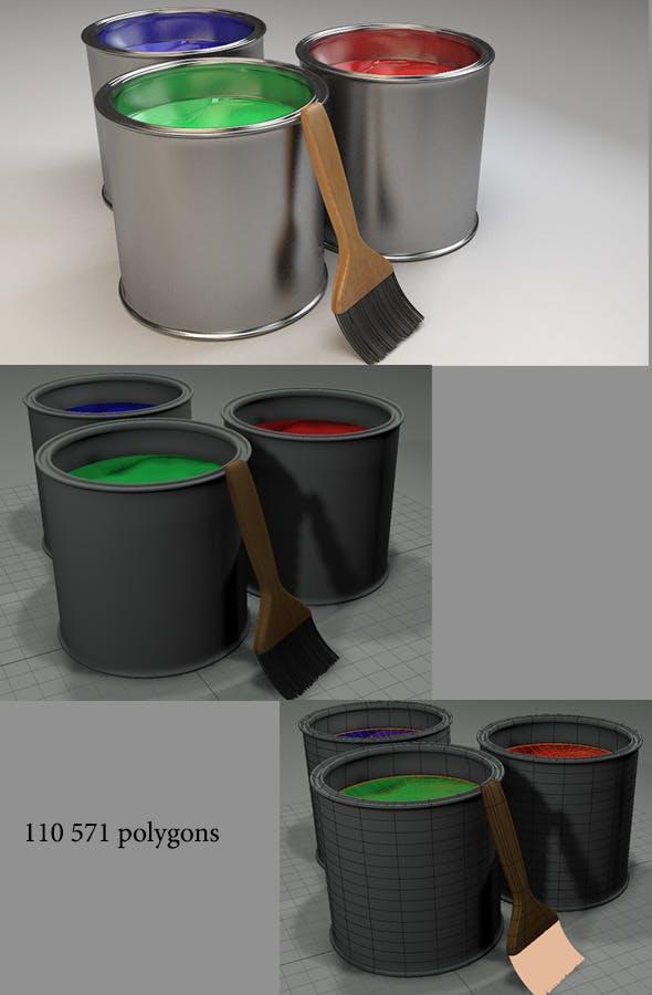 painboxes - 3DOcean Item for Sale