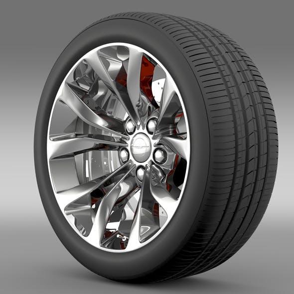 Chrysler 300 Limited 2015 wheel