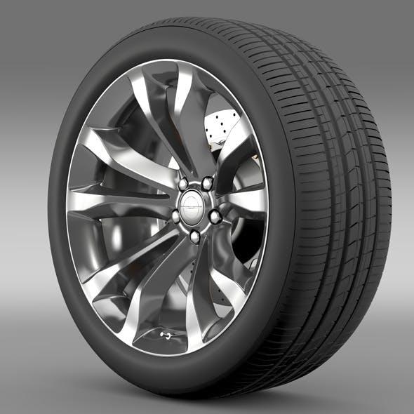 Chrysler 300C Platinum 2015 wheel - 3DOcean Item for Sale
