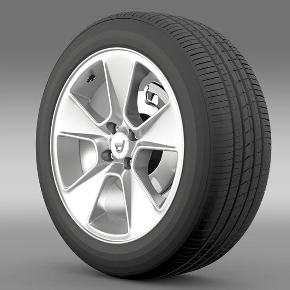Dacia Logan wheel - 3DOcean Item for Sale