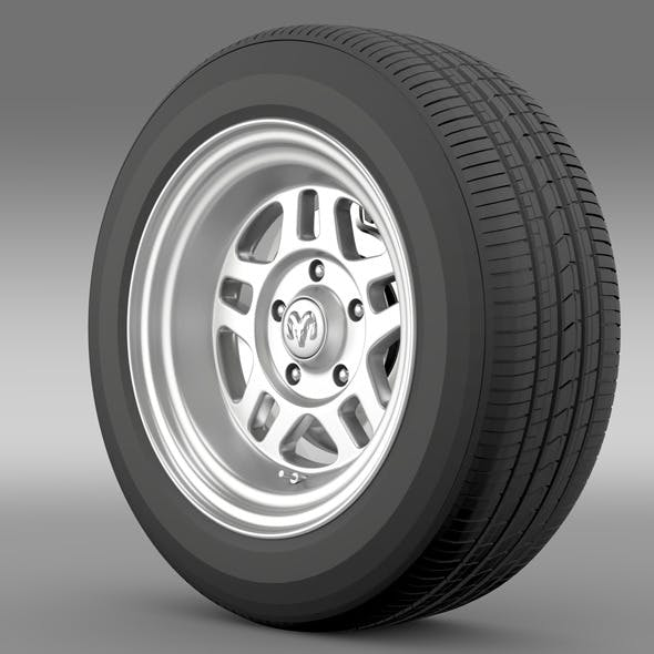 Dodge Challenger Mopar wheel