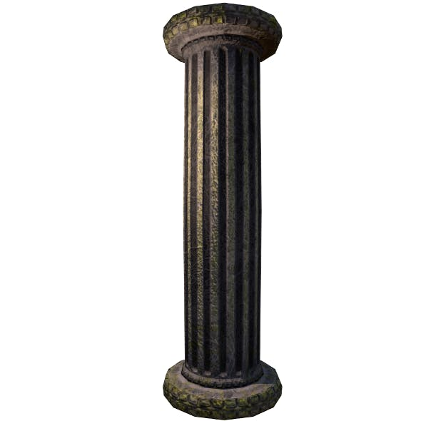 Marble Column | Low Poly Asset - 3DOcean Item for Sale