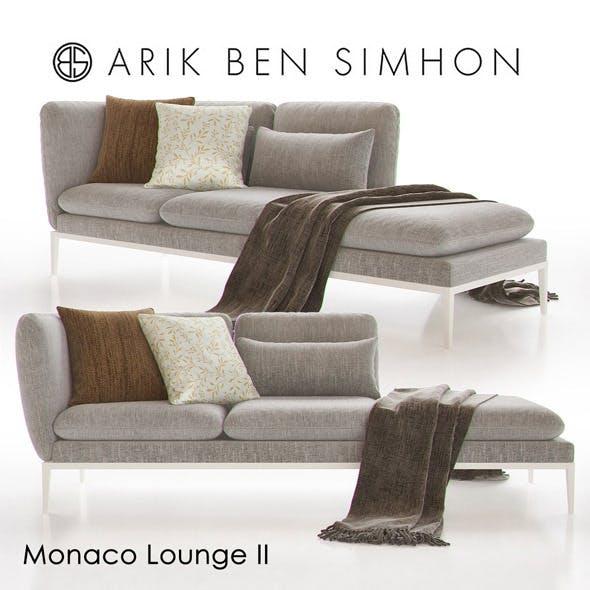 Monaco Chaise Lounge II by Arik Ben Simhon
