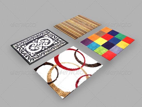 maya mental ray 4 carpets rugs material - 3DOcean Item for Sale