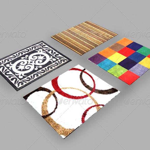 maya mental ray 4 carpets rugs material