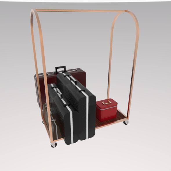 bags transport - 3DOcean Item for Sale