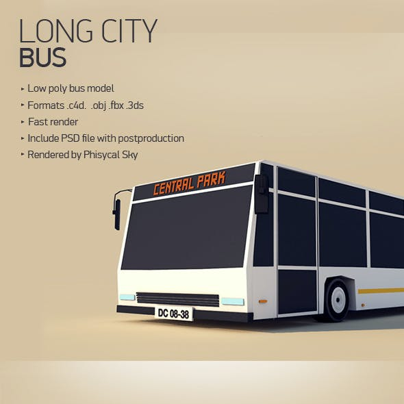 Long City Bus