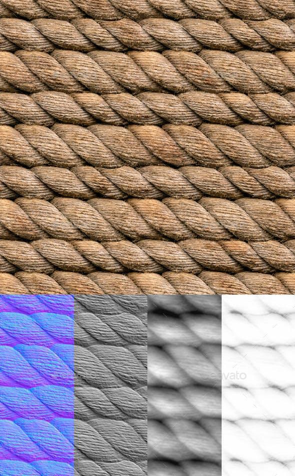 Hemp Rope Seamless - 3DOcean Item for Sale