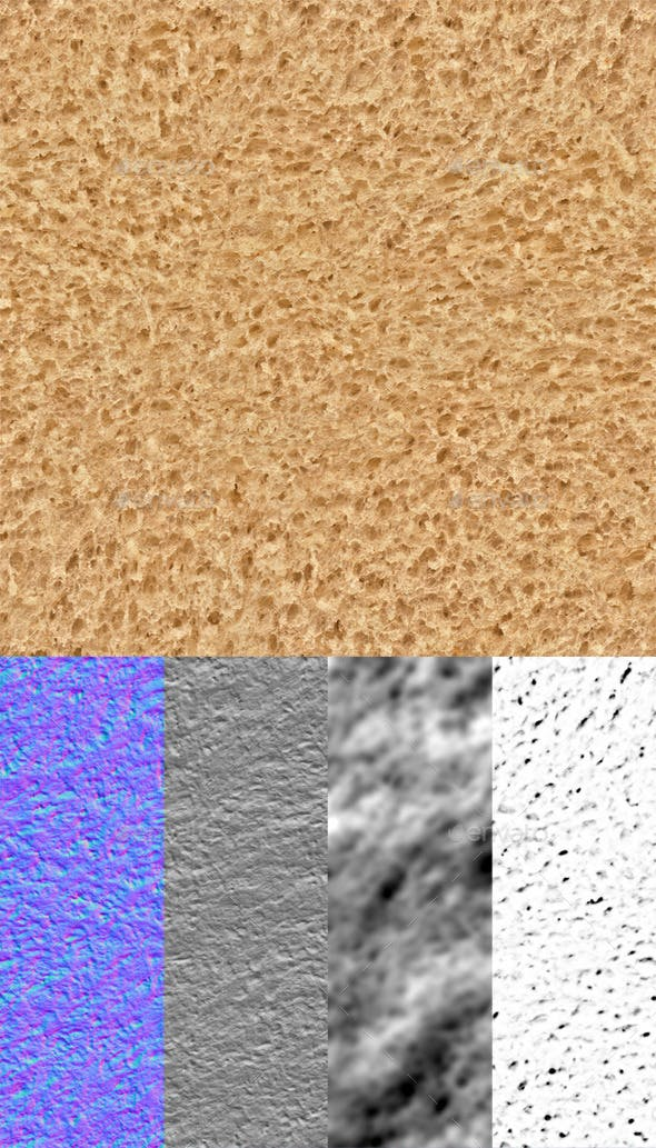 Bread Seamless Texture - 3DOcean Item for Sale