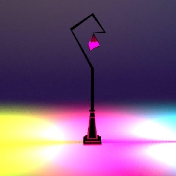 Whimsical Street Lamp Set 03