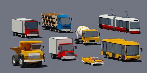 Transport set - 3DOcean Item for Sale